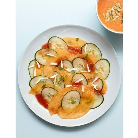 Recette minceur rapide carpaccio melon concombre nos - Cuisine minceur rapide ...