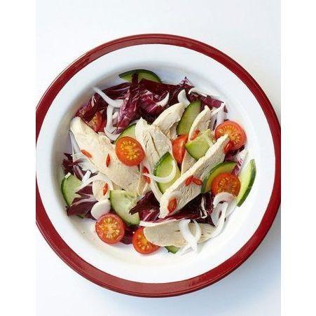 recette minceur soir salade de poulet piment e que manger le soir pour garder la ligne. Black Bedroom Furniture Sets. Home Design Ideas
