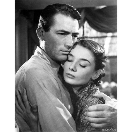 Audrey Hepburn et Gregory Peck dans Vacances romaines