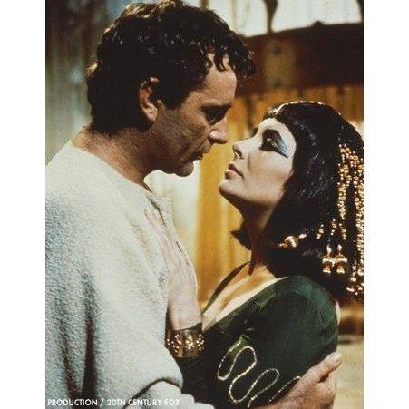 Elizabeth Taylor et Richard Burton dans Cleopatre