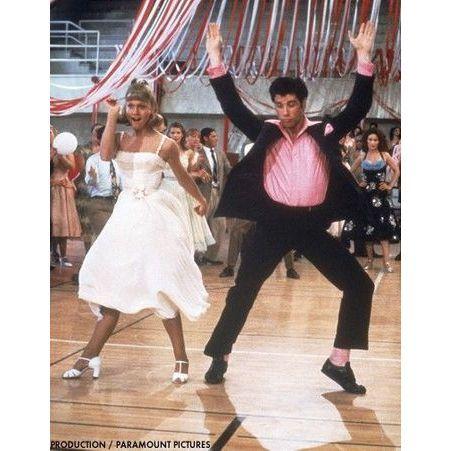 John Travolta et Olivia Newton John dans Grease