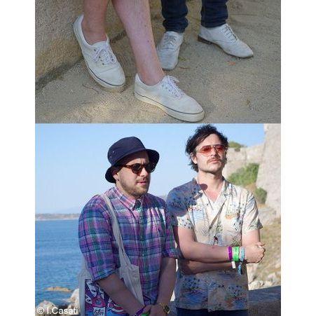 guillaume bri re et benjamin lebeau du groupe the shoes calvi on the rocks 10 souvenirs de. Black Bedroom Furniture Sets. Home Design Ideas