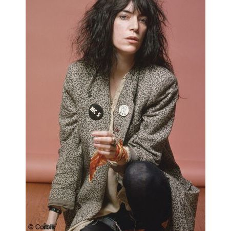 Comme une icone Patti Smith