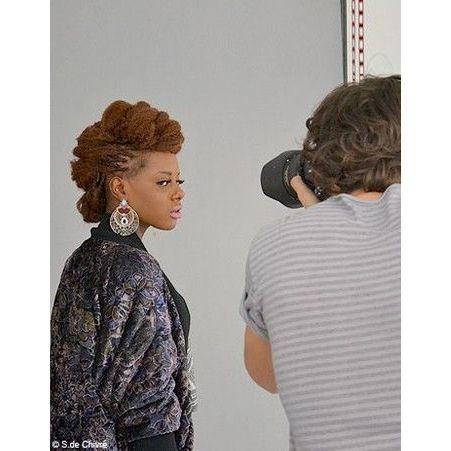ELLE aime la mode les photos du casting a Paris