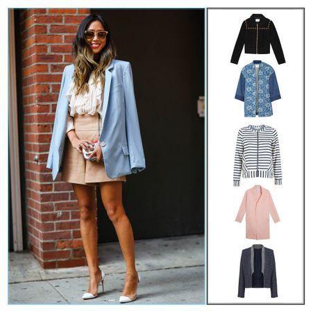 veste t femme 30 vestes d t pour les femmes qui veulent avoir du style en vacances elle. Black Bedroom Furniture Sets. Home Design Ideas