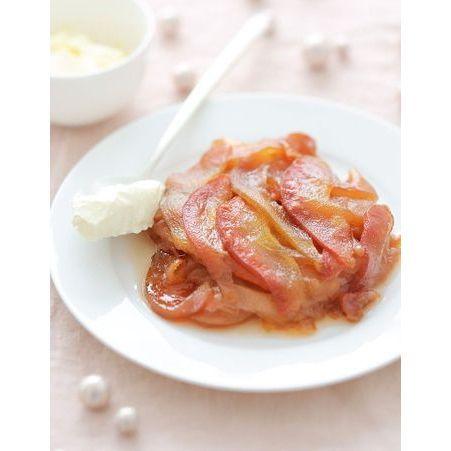 Des pommes et des poires pour r veiller le foie gras 10 for Chutney de pommes pour foie gras