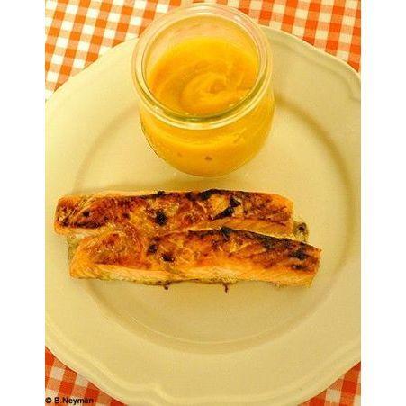 Saumon grill pur e de patates douces recettes de no l le au fourneau elle - Quand recolter les patates douces ...