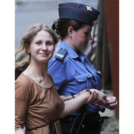 Le proces en appel de Maria Alekhina des Pussy Riot