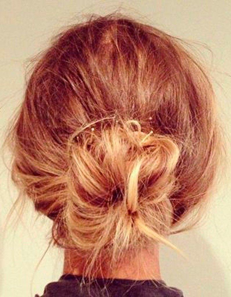 Coiffure Simple Cheveux Attachu00e9s - Coiffure Simple  20 Jolies Idu00e9es Pour Les Filles Pressu00e9es - Elle