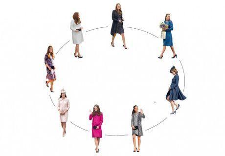 Kate Middleton : quelle grossesse stylée !