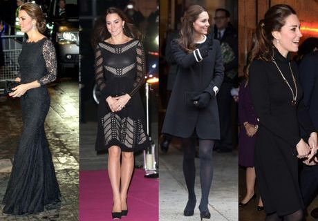 Pourquoi Kate Middleton ne porte plus que du noir