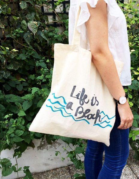 Comment personnaliser un tote bag ?