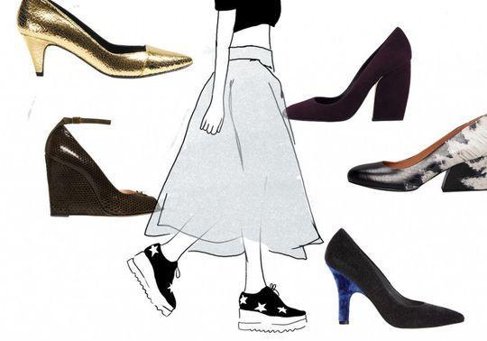 30 chaussures à talons qui ne font pas mal aux pieds
