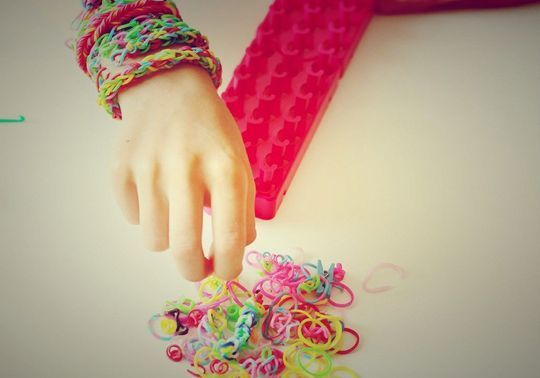 Rainbow Loom, attention danger !