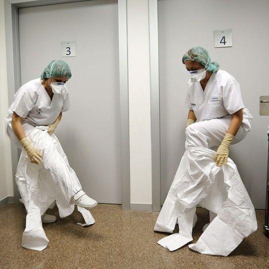 Virus Ebola : l'infirmière espagnole en voie de guérison