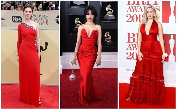 1. red carpet trend dresses