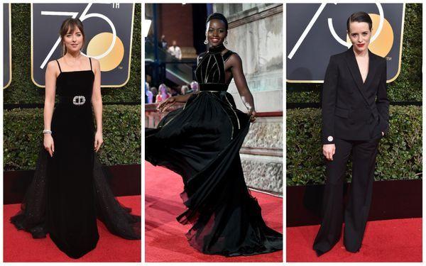 4. black dress trend awards season