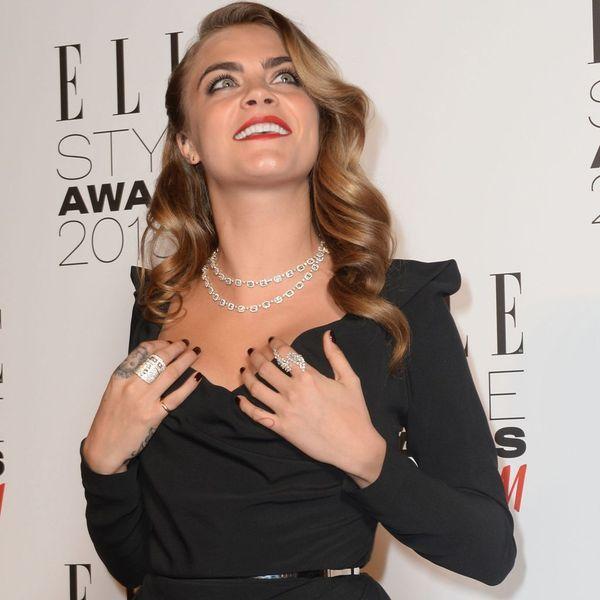 Cara delevingne- Elle Style Awards- Messika Joaillerie-2015