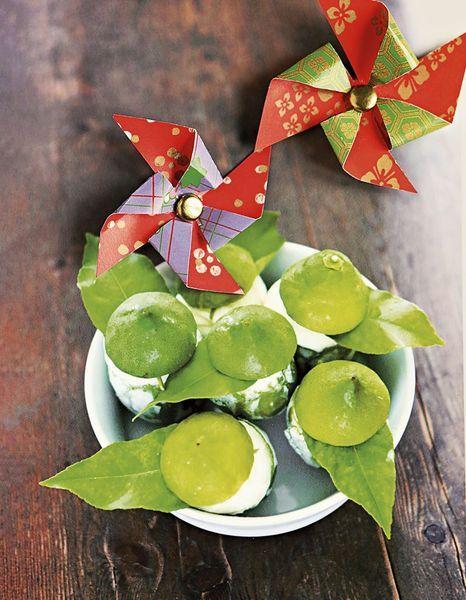Citrons verts givrés