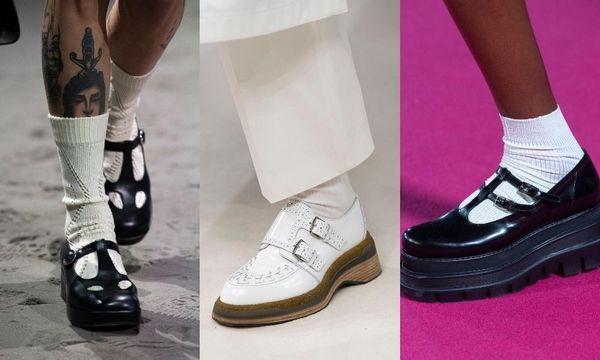 Des chaussures rétro à l'honneur