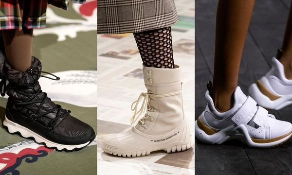 Des sneakers hybrides