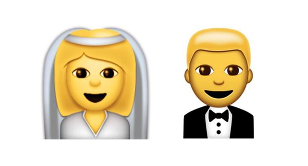 emojis-mariés