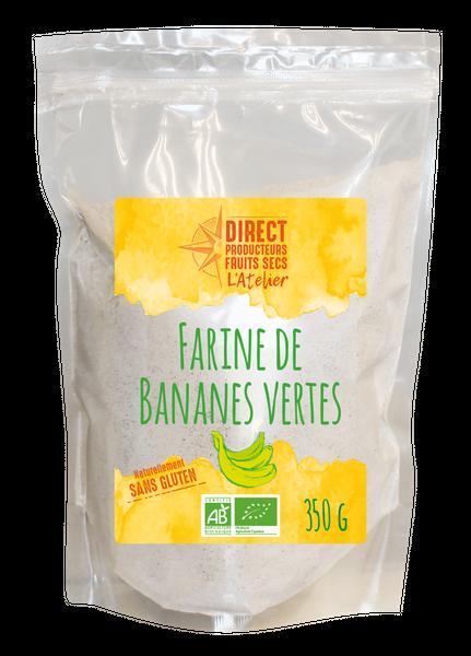 Farine de Bananes vertes 350 g L'Atelier