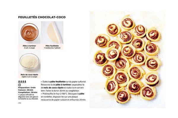 Feuilletes chocolat-coco - Simplissime Desserts - Jean-François Mallet