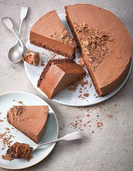 Gâteau nuage chocolat sans gluten et sans lactose