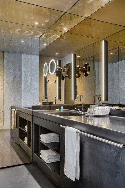 Hotel W Amsterdam- Chambre avec salle de bain