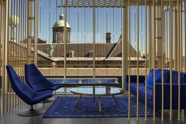 Hotel W Amsterdam- Espace bar