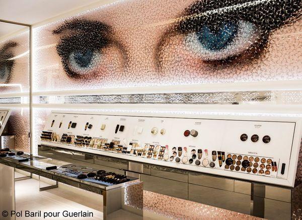 Illustr The Eyes by Norbert Brunner_Pol Baril pour Guerlain