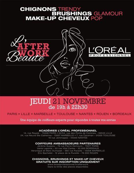 illustration_invitation Afterwork Beauté L'Oréal Professionnel - 21 Novembre _illustr1
