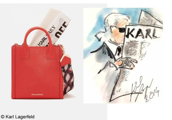 Karl Lagerfeld lance un journal - Elle cf7ec6d9b4d