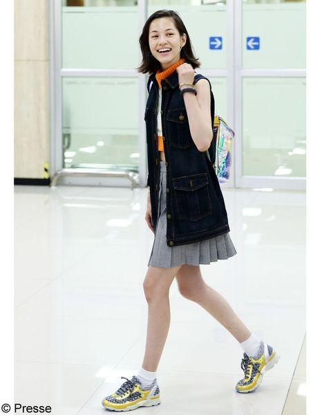 Kiko-Mizuhara,-Vernissage-Culture-Chanel-Seoul,-29-Août-2014