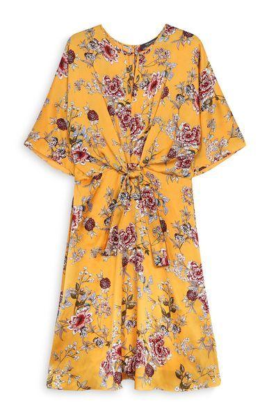 Kimball-4478709-KNOT FRONT DRESS YELLOW, GRADE C B D, WK 28, E18