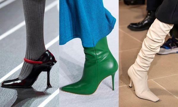 La géométrie s'invite dans notre shoesing