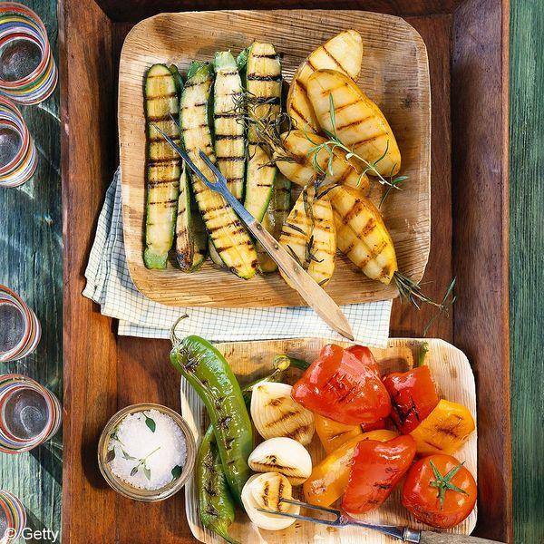 Légumes soleil rôtis