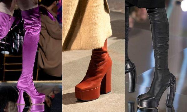 Quelles sont les chaussures tendance de la rentrée 2020
