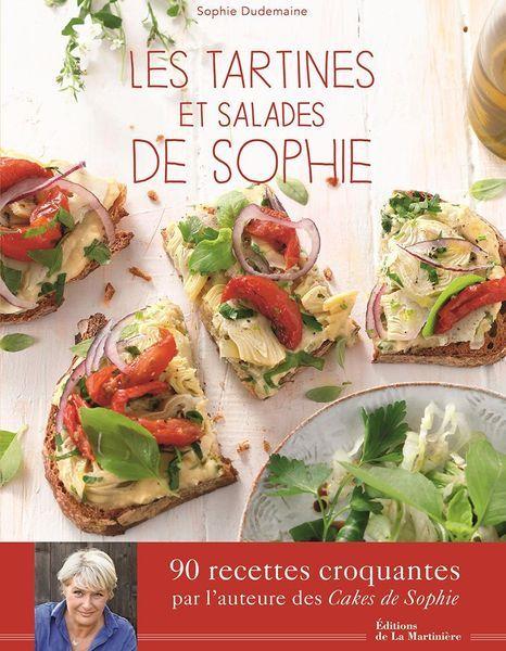 Livres Les tartines et salades de Sophie