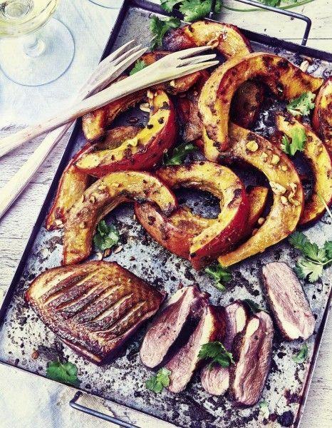 Magret-de-canard-et-potimarron-roti-miso-cacahuetes_Velery-Guedes