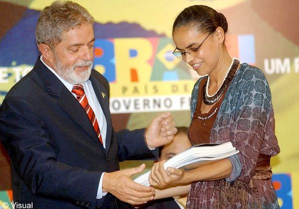 marina silva_President Luiz Inacio Lula