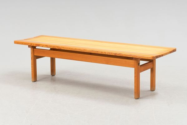 Midcentury Pine Bench by B+©rge Mogensen for Karl Andersson & S+Âne