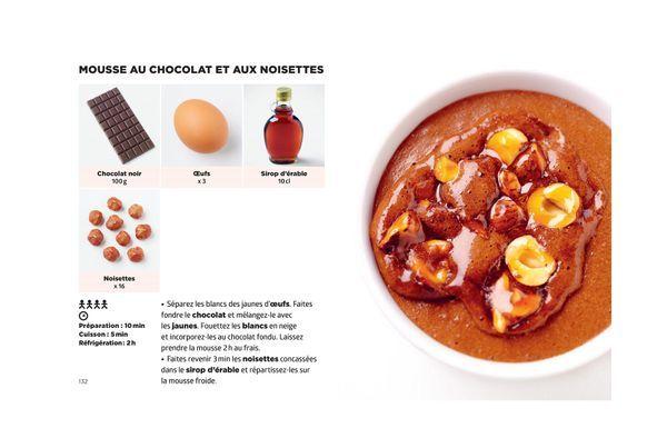 Mousse chocolat et aux noisettes - Simplissime Desserts - Jean-François Mallet