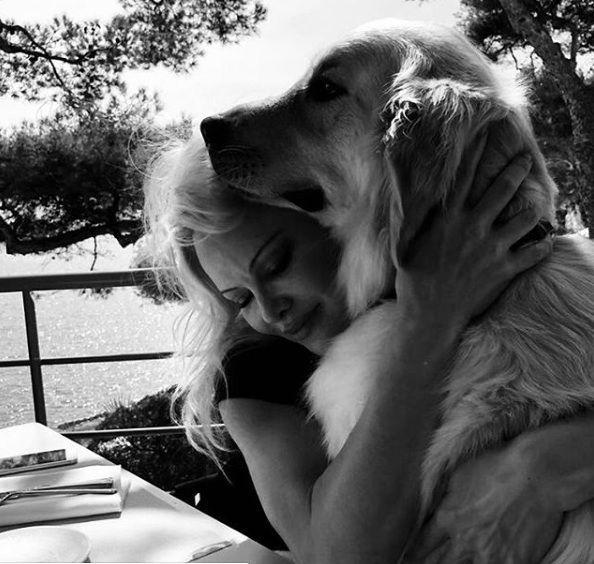 Pamela Anderson with Zeus4