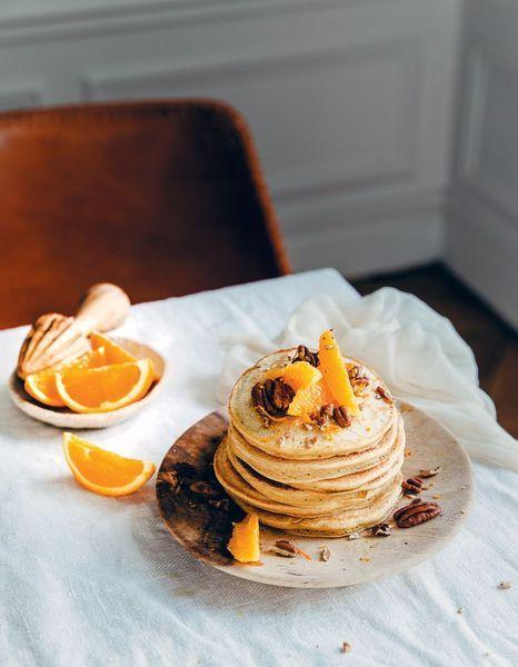 Pancakes façon carrot cake - Les recettes healthy de Margot