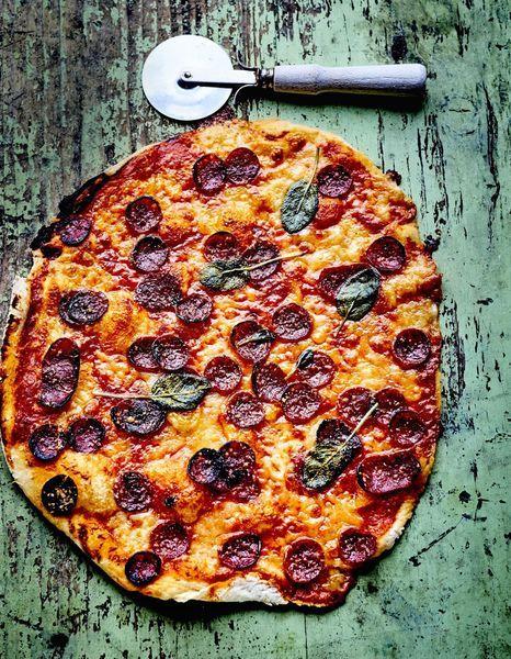Pizza-piquante-au-chorizo