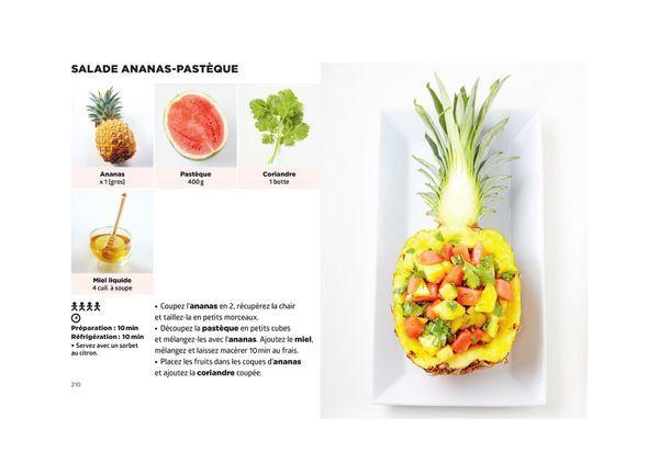 Salade ananas -pasteque - Simplissime Desserts - Jean-François Mallet