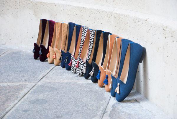 Slippers personnalisables mode Paris