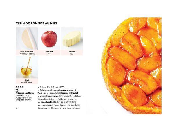 Tatin de pommes au miel - Simplissime Desserts - Jean-François Mallet